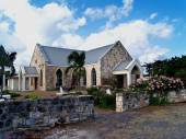 St. Johns Anglican Church Seatons Village in Antigua Barbuda in the Caribbean Lesser Antilles West Indies. — Stock Photo
