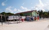Seaside Market in Antigua Barbuda — Zdjęcie stockowe