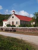 St. Pauls Anglican Church in Antigua Barbuda — Stock Photo