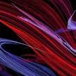 Abstract texture of paint brush strokes in red, blue and pink, — Stock Photo #56208487