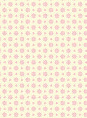 Vector swatch eyelet fabric wallpaper with easy to change pink colored background that matches Valentine borders. — Stock Vector