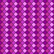 Vector eps8, pink and purple variegated diamond snake style wallpaper texture pattern. — Stock Vector #56870735