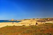 Hippodrome in Caesarea Maritima National Park — Stock Photo