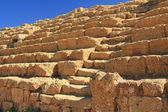 Hippodrome Steps and Seats in Caesarea Maritima National Park — Stock Photo