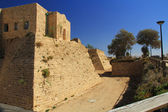 Castle Moat in Caesarea Maritima National Park — Stock Photo