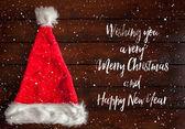 Red Santa Claus Hat — Stock Photo