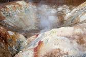 Sulfur in Krafla — Stock Photo