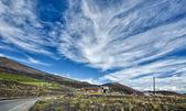 The sky over Etna — Stock Photo