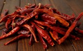 Pile of chilies — Stock Photo