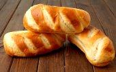 Hotdog buns — Stock Photo