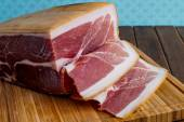 Whole prosciutto italian ham — Stock Photo
