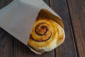 Tasty cinnamon buns — Foto de Stock