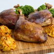 Roasted crispy duck leg — Stock Photo #62141501