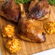 Roasted crispy duck leg — Stock Photo #62142253