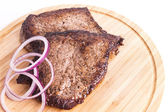 Delicious grilled Steak ready for serving — Stock Photo