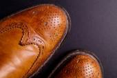 Elegant gentleman Leather Shoe — Photo