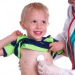 Doctor examines a young child. — Stock Photo #72231129