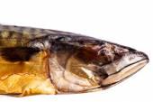 Nice smoked mackerel — Stock Photo
