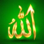 Постер, плакат: Allah sign
