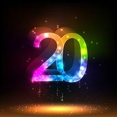 Number twenty — Stock Vector