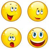 ícones de smiley — Vetorial Stock