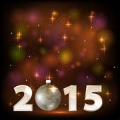 2015 happy new year celebration background for your posters — Vetorial Stock