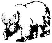 Bear — Stock Vector