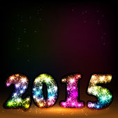 2015 happy new year celebration background for your posters — Stockvektor