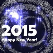 Fundo de celebração de ano novo — Vetor de Stock