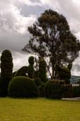 Columbian cemetery, south america — Stock Photo