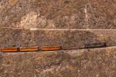 Ferrocarril de Ecuador, Transandino, Nariz del Diablo — Stock Photo