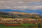 A glimpse into an ecuadorian village, south america, Loja, Ecuador — Stock Photo