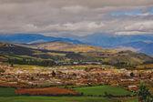 A glimpse into an ecuadorian village — Stock Photo