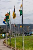 Middle of the world,  Mitad del Mundo, Equator, south america — Stock Photo