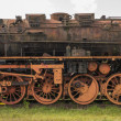 Old rusted steam locomotive in the Netherlands — Stock Photo #68874717