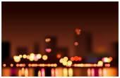 Big City Lights — Stock Vector