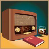 Radio — Stockvector