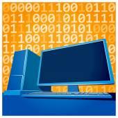 Informatica — Vettoriale Stock