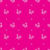 Vector hand drawn lollipop seamless pattern — Stock Vector
