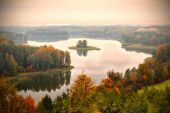 Jedzelewo Lake in Stare Juchy — Stock Photo