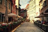 Riga streets — Stock Photo
