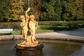 Cupids trumpet fountain — Stock Photo