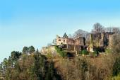 Medieval castle ruin Hohenschramberg in Germany — Stock Photo