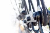 Rigging detail on a sailing vessel — Stock Photo