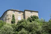 Building in an old mountain village in southern Europe — Stock Photo