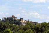 Historic castle on the hill, Chateau of Ansouis,  Provence, sout — Stock Photo