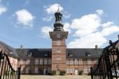 Castle of Husum against the blue sky, Schleswig Holstein, North — Stock Photo