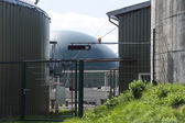 Part of a biogas plant — Stock Photo