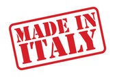 MADE IN ITALY Rubber Stamp vector over a white background. — Stock Vector