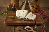 Feta cheese concept photo — Stock Photo